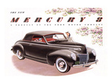 1939 Mercury 8 Convertible Posters