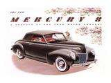 1939 Mercury 8 Convertible Posters