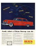 1954 GM Buick Special Skylark Prints