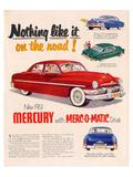 1951Mercury Merc-O-Matic Drive Affiches