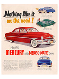 1951Mercury Merc-O-Matic Drive Prints