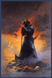 Death Dealer Three Posters by Frank Frazetta