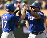 Texas Rangers v Oakland Athletics Photo by Thearon W Henderson