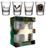 The Hobbit: Battle Of The Five Armies Smaug Shot Glass Set Novelty