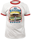 Pulp Fiction- Big Kahuna Burger Ringer T-shirts