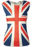 Juniors: Def Leppard- Union Jack T-Shirts