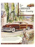 1950 Chrysler Town & Country Prints