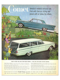 1960 Mercury-Comet Compact Car Posters