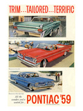 1959 GM Pontiac-Trim Tailored… Poster