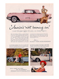 1959 Thunderbird- Becoming Car Print