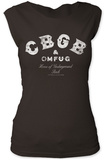 Juniors: CBGB- Distressed Logo T-shirty