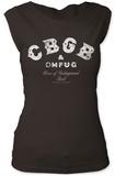 Women's: CBGB- Distressed Logo T-shirts