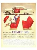 1961 Mercury-New Comet S-22 Print