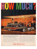 1960 Mercury - How Much Posters