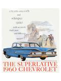 1960 GM Chevrolet Superlative Premium Giclee Print
