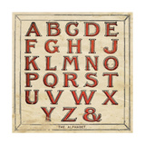 Alphabet Print by Jo Moulton