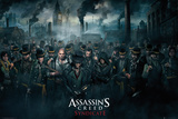 Assassins Creed Syndicate- Crowd Posters