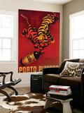 Porto Pitters Vintage Poster - Europe Premium muurposter van  Lantern Press