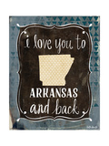 Arkansas and Back Poster by Katie Doucette