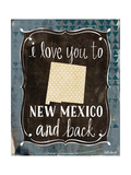 New Mexico and Back Prints by Katie Doucette
