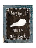 Kentucky and Back Prints by Katie Doucette