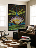 Dragonfly - Paper Mosaic Wall Mural by  Lantern Press
