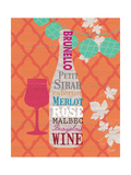 Summer Wine Celebration I Premium Giclee Print by  Studio Bella