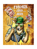 Deer John Deer Posters by Jim Baldwin
