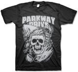 Parkway Drive- Surfer Skull Shirts