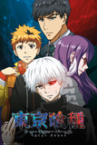 Tokyo Ghoul- Conflict Posters
