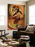 Day of the Dead - Marionettes Wall Mural by  Lantern Press