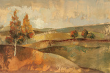 Autumn Hills I Posters by Silvia Vassileva