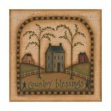 Country Blessings Plakat av Kim Lewis