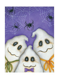 3 Spooks Print by Kim Lewis