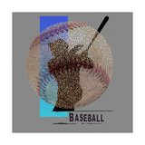 Art of Baseball Print by Jim Baldwin