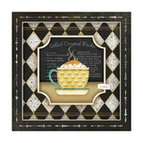 Kitchen Cuisine Coffee I Print by Jennifer Pugh