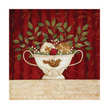 Christmas Still-Life Print by Jo Moulton