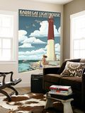 Barnegat Lighthouse - New Jersey Shore Wall Mural by  Lantern Press