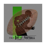 Art of Football Posters by Jim Baldwin