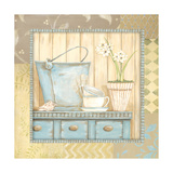 Coastal Still-Life Poster by Jo Moulton