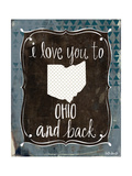 Ohio and Back Posters by Katie Doucette