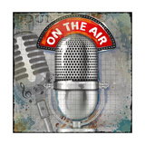 On the Air Poster by Jim Baldwin