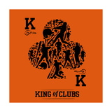 King of Clubs Sage Prints by Jim Baldwin
