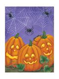 3 Spiders Prints by Kim Lewis