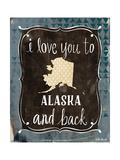 Alaska and Back Posters par Katie Doucette
