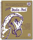 Dodo Pad - 2016 Desk Diary Kalendere