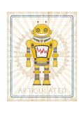 Retro Robot I Posters by Jennifer Pugh