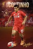 Liverpool- Coutinho 15/16 Print