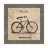 Bicycle Print by Jo Moulton