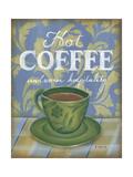 Coffee Prints by Kim Lewis